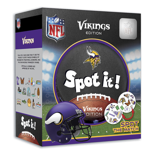 Minnesota Vikings Spot It Game