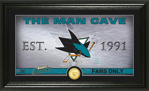 San Jose Sharks Man Cave