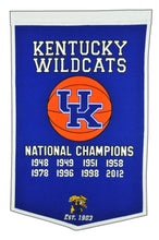 "Kentucky Wildcats Dynasty Wool Banner - 24""x36"""