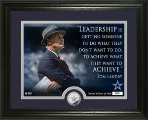 Tom Landry Dallas Cowboys
