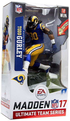 Todd Gurley Los Angeles Rams McFarlane EA Sports Madden 17 Ultimate Team Series 1 Action Figure