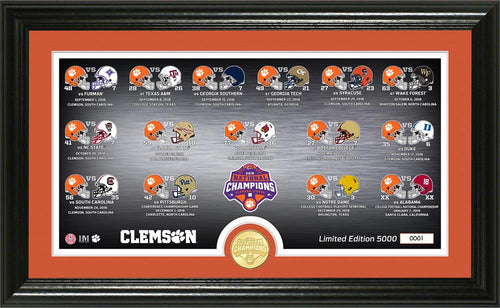 clemson tigers 2018 National champions