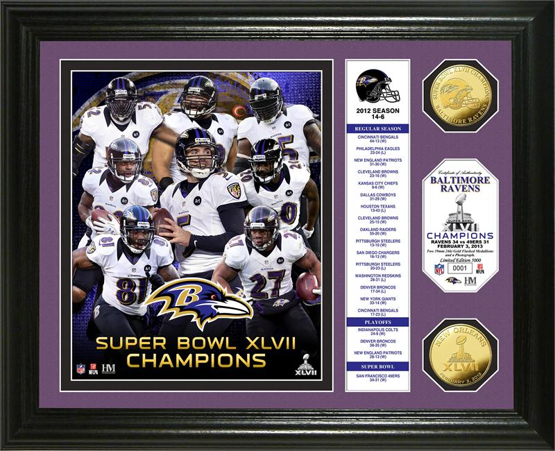 baltimore ravens super bowl champions