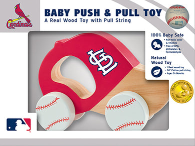 St. Louis Cardinals Push and Pull Toy