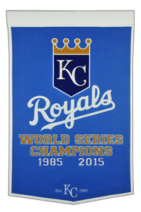kansas city royals world series champions dynasty banner