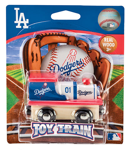 Los Angeles Dodgers Wood Train