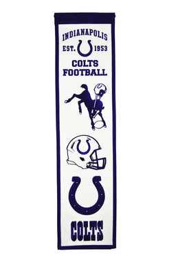 Indianapolis Colts Heritage Banner - 8