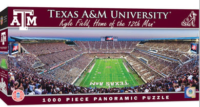 Texas A&M Aggies Football Panoramic Puzzle