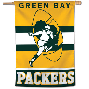 "Green Bay Packers Retro Vertical Flag - 28""x40"""