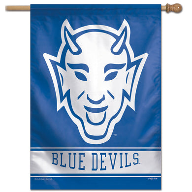 Duke Blue Devils College Vault Vertical Flag - 28