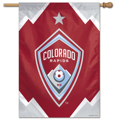 Colorado Rapids Vertical Flag 28