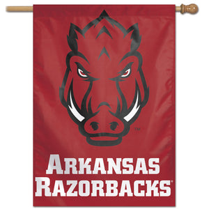 "Arkansas Razorbacks Vertical Flag 28""x40"""