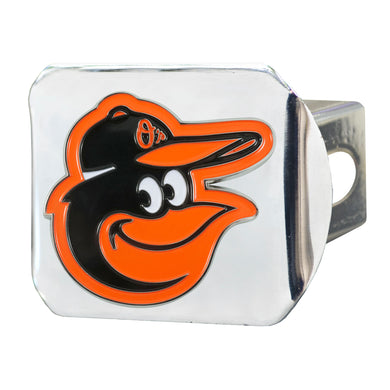 Baltimore Orioles Color Chrome Hitch Cover