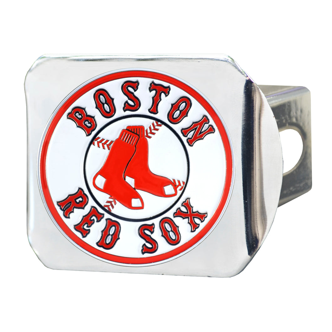 Boston Red Sox Color Chrome Hitch Cover