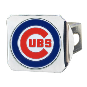 Chicago Cubs Color Chrome Hitch Cover
