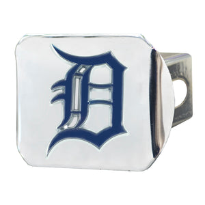 Detroit Tigers Color Chrome Hitch Cover
