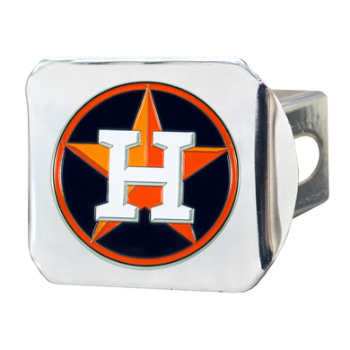 Houston Astros Color Chrome Hitch Cover