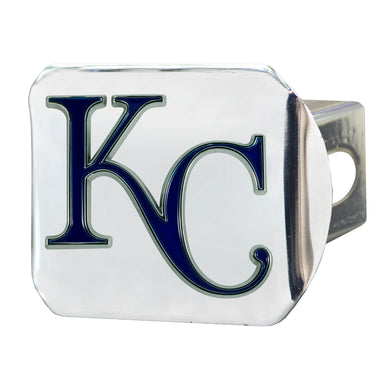 Kansas City Royals Color Chrome Hitch Cover