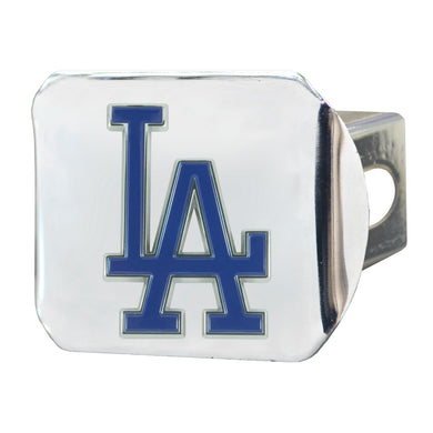 Los Angeles Dodgers Color Chrome Hitch Cover