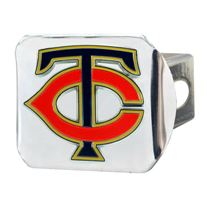 Minnesota Twins Color Chrome Hitch Cover
