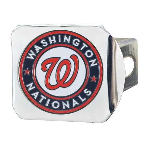 Washington Nationals Color Chrome Hitch Cover