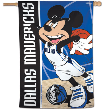 Dallas Mavericks Mickey Mouse Vertical Flag 28