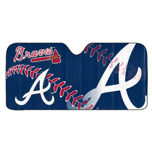Atlanta Braves Universal Car Shade