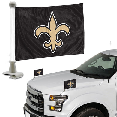 new orleans saints car flag