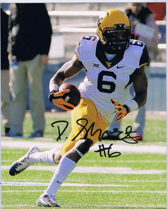 wvu football, daikiel shorts autograph
