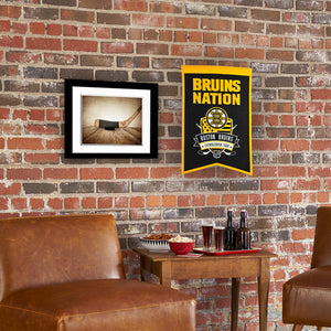 "Boston Bruins Nations Wool Banner - 14""x22"""