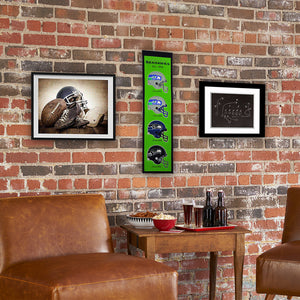 "Seattle Seahawks Fan Favorite Heritage Banner - 8""x32"""