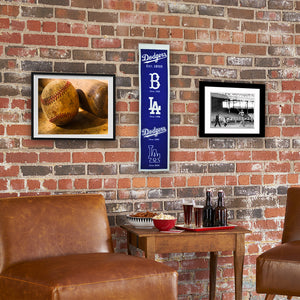 "Los Angeles Dodgers Heritage Banner - 8""x32"""