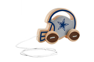 Dallas Cowboys Baby Push and Pull Toy, NFL Kids Toys