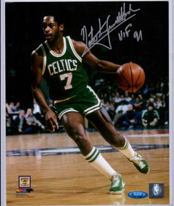 tiny nate archibald boston celtics autograph
