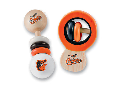 Baltimore Orioles Rattles, Baby Toy