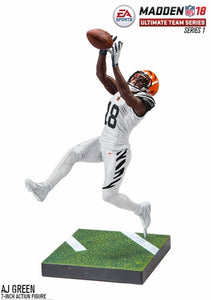 Football memorabilia AJ Green Bengals EA Sports Madden 18 action figure from Sports Fanz