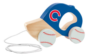 Chicago Cubs Push and Pull Toy
