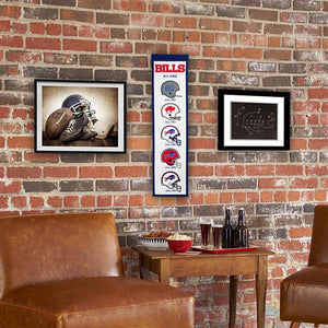 "Buffalo Bills Stadium Fan Favorite Heritage Banner - 8""x32"""