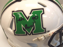 Online sports memorabilia signed mini Marshall University helmet Aaron Dobson and Vinny Curry - Sports Fanz