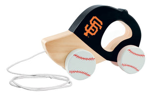 San Francisco Giants push and pull toy