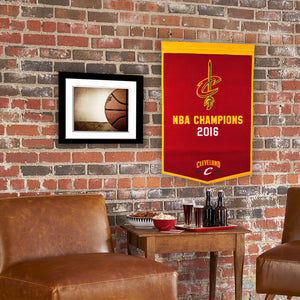 "Cleveland Cavaliers Dynasty Wool Banner - 24""x36"""