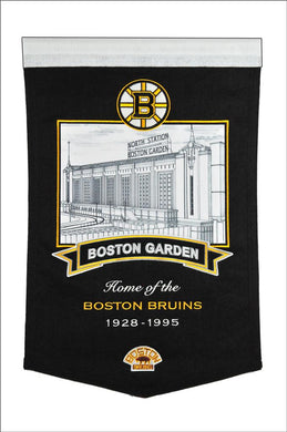 Boston Bruins Boston Garden Arena Banner - 15
