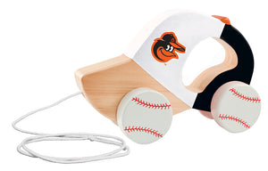 Baltimore orioles push and pull toy