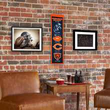 "Chicago Bears Heritage Banner - 8""x32"""