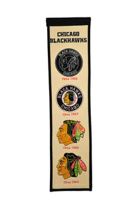 "Chicago Blackhawks Fan Favorite Banner - 8""x32"""