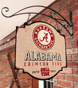 Alabama Crimson Tide Vintage Tavern Sign