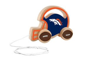 Denver Broncos Baby Push and Pull Toy, NFL Kids Toys