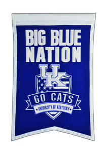 "Kentucky Wildcats Nation Banner - 14""x22"""