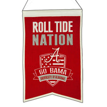 "Alabama Crimson Tide Nation Banner - 14""x22"""