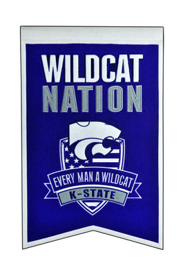 Kansas State Wildcats Nation Banner - 14